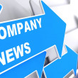 Company News. Information Concept. — Stock Photo