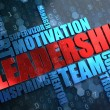 Leadership. Wordcloud Concept. — Stock Photo