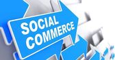 Social Commerce. Business Concept. — Stock Photo