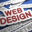 Web Design Concept. — Foto Stock