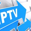 IPTV.  Information Concept. — Stock Photo