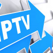 Stock Photo: IPTV. Information Concept.