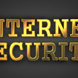 Stock Photo: Internet Security. Information Concept.