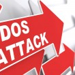 Stock Photo: DDOS Attack. Information Concept.