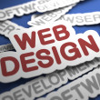 Stock Photo: Web Design Concept.