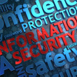 Information Security.  Wordcloud Concept. — Stock Photo