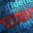 Information Security. Wordcloud Concept. — Stockfoto