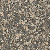 Seamless Texture of Stony Soil. — Stock Photo