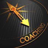 Coaching. Business Background. — Stock Photo
