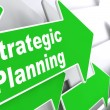 Strategic Planning. Business Concept. — Stock Photo