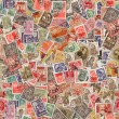 Seamless Texture of Postage Stamps. — Stock Photo #31496493