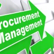 Procurement Management. Business Concept. — Stock Photo