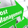 Cost Management. Business Concept. — Stock Photo