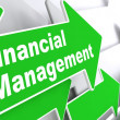 Financial Management. Business Concept. — Zdjęcie stockowe