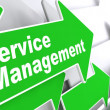 Service Management. Business Concept. — Stock Photo