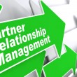 Partner Relationship Management. Business Concept. — Stock Photo