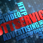 OTT Service. Wordcloud Concept. — Stock Photo