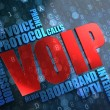 Stock Photo: VOIP. Wordcloud Concept.