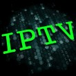 IPTV . Information Technology Concept. — Stock Photo