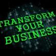 Stock Photo: Transform Your Business Concept.