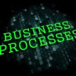 Business Processes. Digital Background. — Stock Photo