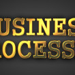 Business Processes Concept. — Stock Photo