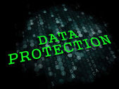 Data Protection. Information Technology Concept. — Stock Photo