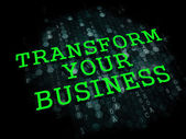 Transform Your Business Concept. — Stock Photo