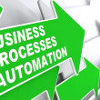 Stock Photo: Business Processes Automation Concept.
