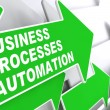Business Processes Automation Concept. — Stock Photo