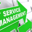 IT Service Management Concept. — Stock Photo