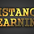 Distance Learning.  Business Concept. — Foto de Stock