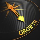 Growth. Business Background. — Stock Photo