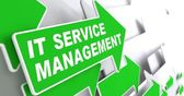 IT Service Management Concept. — Stock Photo