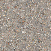Seamless Texture of Dusty Soil with Debris. — Stock Photo