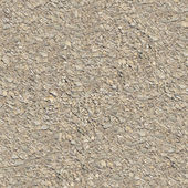 Seamless Tileable Texture of Macadam Surface. — Stock Photo