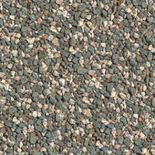 Seamless Tileable Texture of Crushed Granite. — Stock Photo