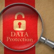 Data Protection Concept. — Stock Photo