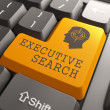 Keyboard with Executive Search Button. — Stock Photo