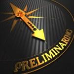 Preliminaring. Business Concept. — Stock Photo #33230865