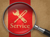 Service Concept. — Stock Photo