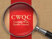 CWQC Concept. — Stock Photo