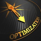 Optimization. Business Concept. — Stock Photo