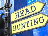 Headhunting Concept. — Stock Photo