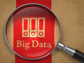 Big Data Concept. — Stock Photo