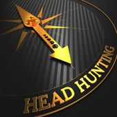 Headhunting. Business Concept. — Stock Photo