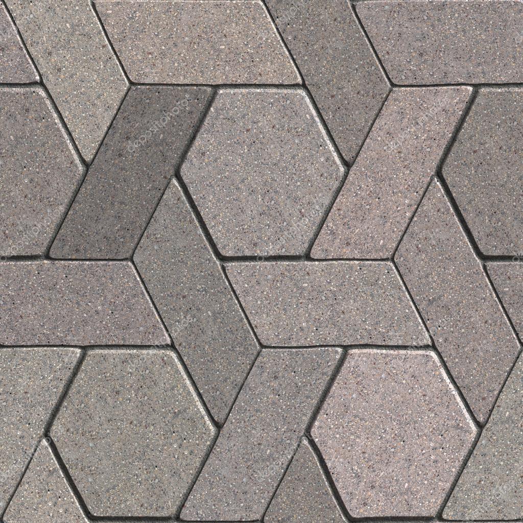 Losas de pavimento textura enlosables sin fisuras foto for Pavimento ceramico hexagonal