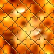 Golden Pattern. Seamless Tileable Texture. — Stock Photo