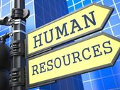 Human Resources. Business Concept. — Stock Photo