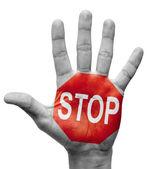 Stop Concept. — Stock Photo